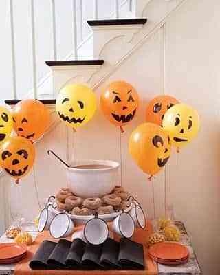 decorar mesa para halloween