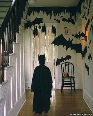 Decorar paredes para Halloween