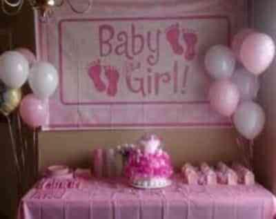 decorar para baby shower