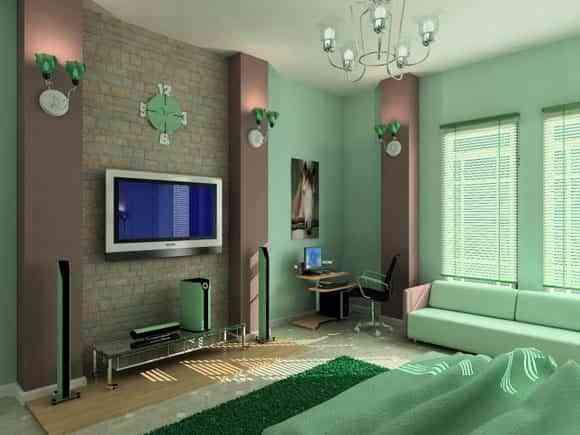 decorar pared con ladrillo