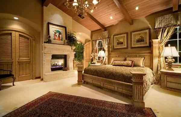 dormitorio clasico americano