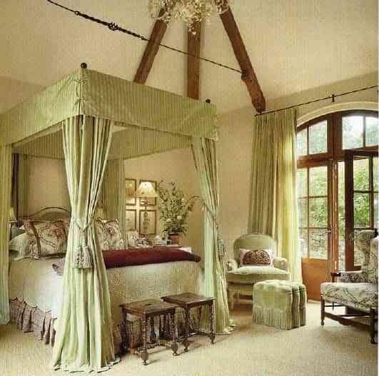 dormitorio clásico frances