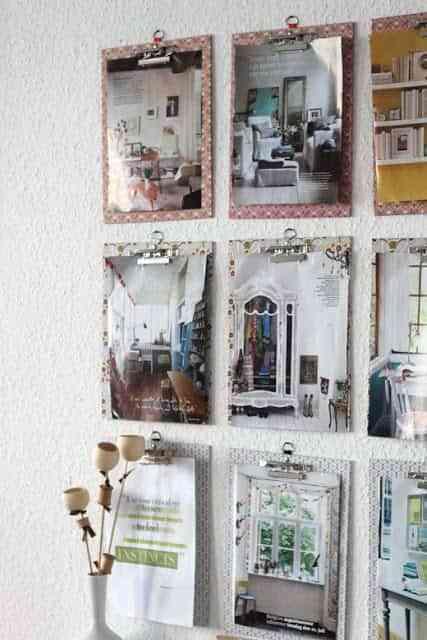 Carpetas en la pared para decorar tu oficina 3