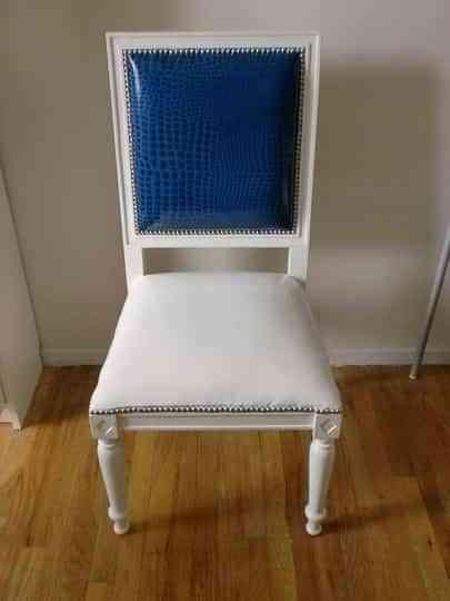 Una silla en dos colores 1