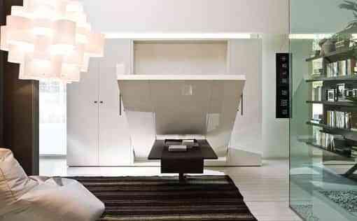 Diseños de camas convertibles para ahorrar espacios