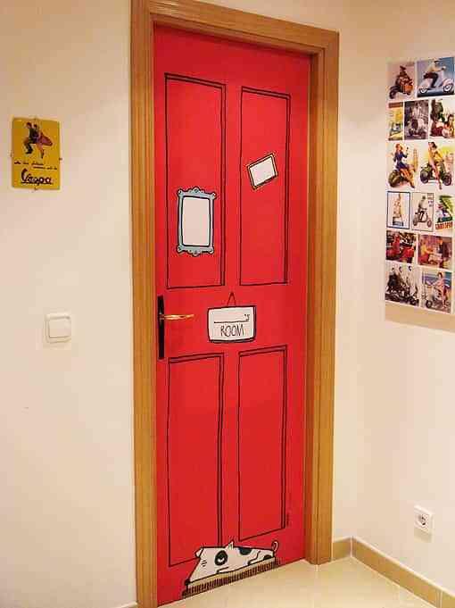 DoorDresser unas divertidas fundas para la puerta Decoracin de