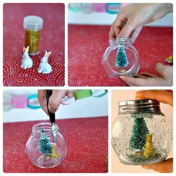 Realiza tus propias bolas de Navidad Decoracin de Interiores