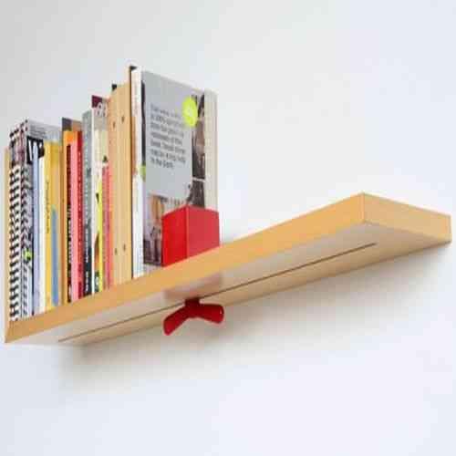 Repisa autoajustable para los libros blog totpint - Librerias de pared ...
