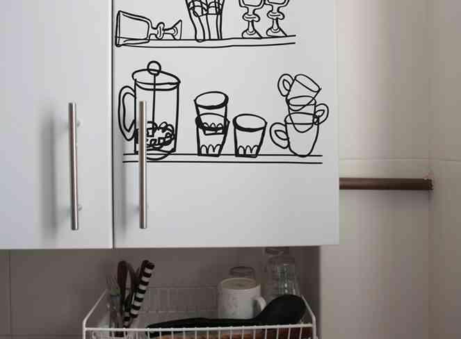 Hommu originales vinilos para tu casa blog totpint - Vinilos cocina originales ...