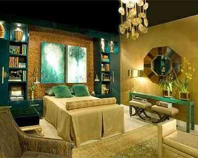 decoracion de dormitorio elegante