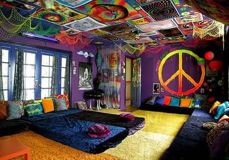 Decoración De Dormitorio Estilo Hippie Decoración De