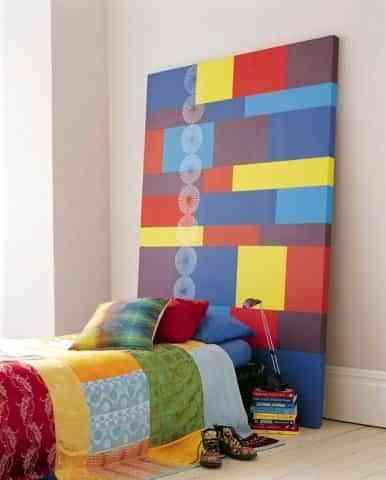 decorar habitacion con cabecero
