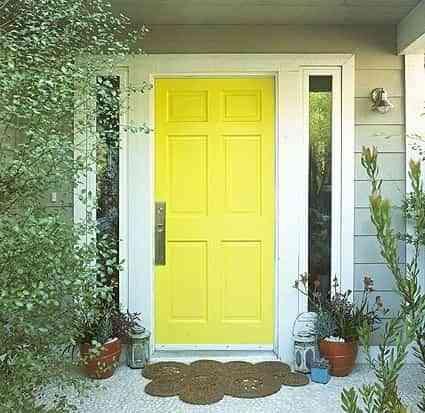 decorar la puerta