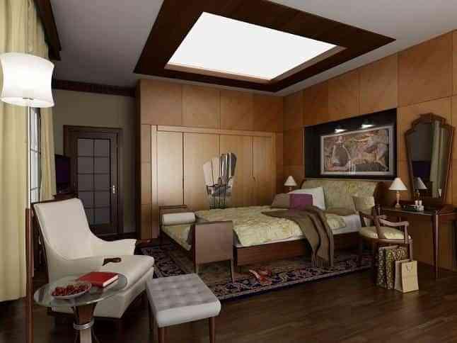 decorar dormitorio techo ilminado