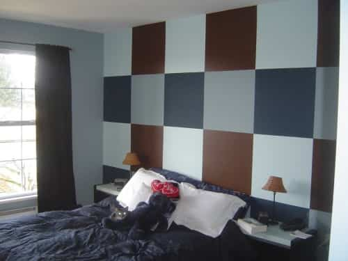 decorar pared con cuadros