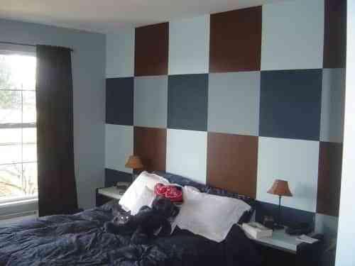 Decorar La Pared Con Cuadros De Colores Decoracion De Interiores - Decoracion-de-interiores-con-cuadros
