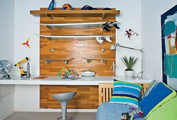 decorar pared deportiva