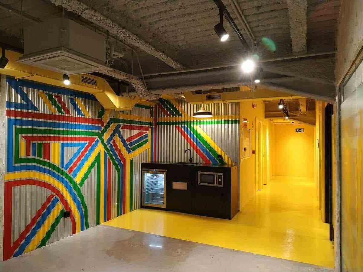 Graffitis para la decoración de interiores 1