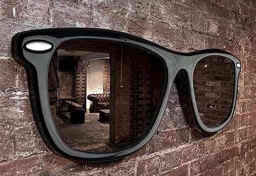 Looking Good, un espejo en formas de gafas Ray-Ban