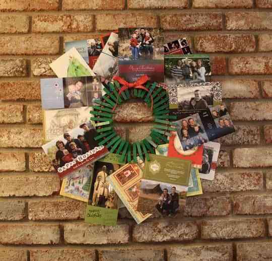 Ideas originales para hacer coronas navideñas DIY 3