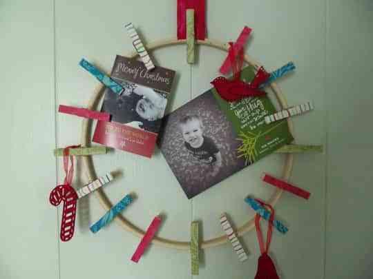 Ideas originales para hacer coronas navideñas DIY 1