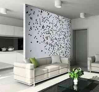 decorar una pared divisoria