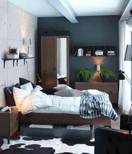 decorar dormitorio basico ultramoderno