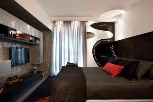 decorar dormitorio moderno hombre