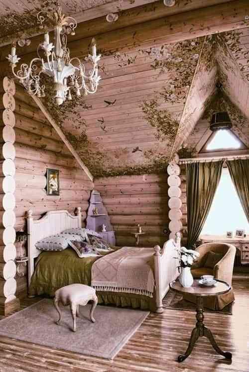 dormitorio eclectico
