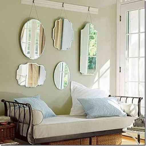 Decorar con espejos una pared - Decorar con espejos ...