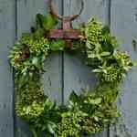 Guirnaldas verdes para decorar la casa 2