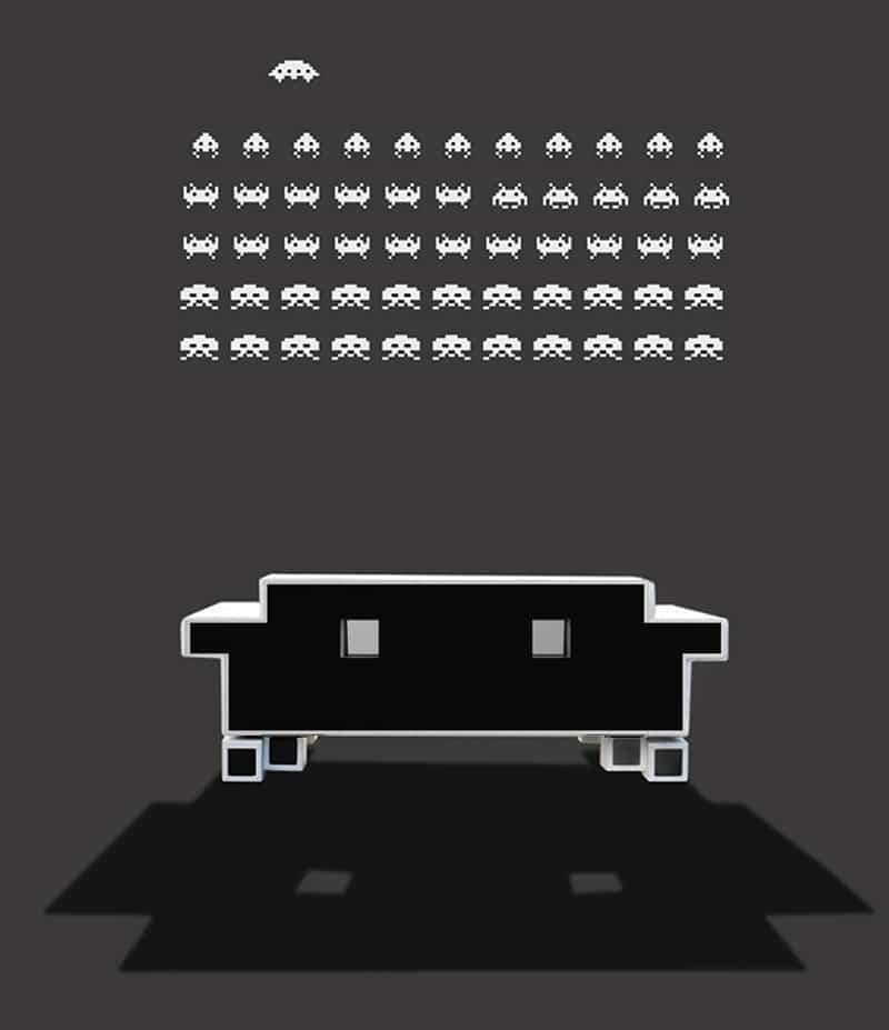 Un sofá para amantes de los videojuegos 1