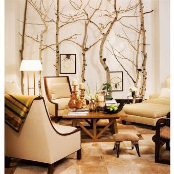 Decoraci n con ramas - Ramas de arbol para decoracion ...