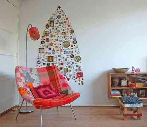 Un árbol de Navidad... en la pared 1