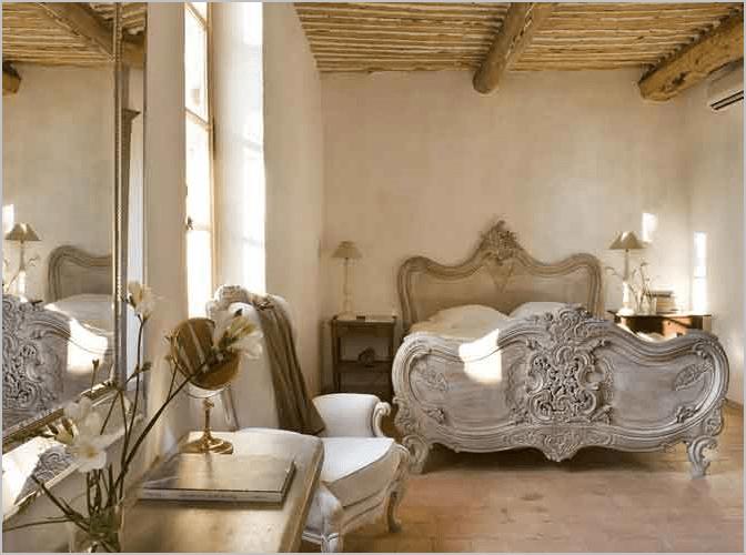 Decoración de un dormitorio french neutral 1