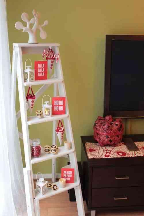 decorar escalera en el domritoiro