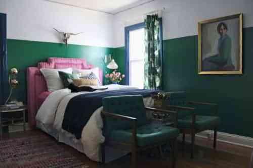 Decoración de paredes verde esmeralda 2013 1