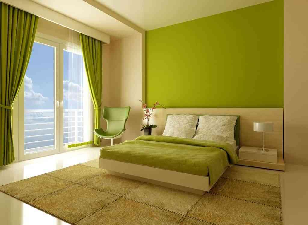Una habitación en verde 1