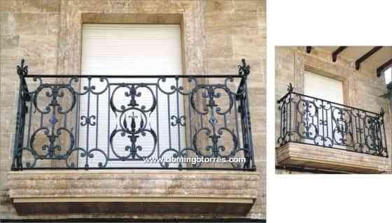 Balcon forja artesana