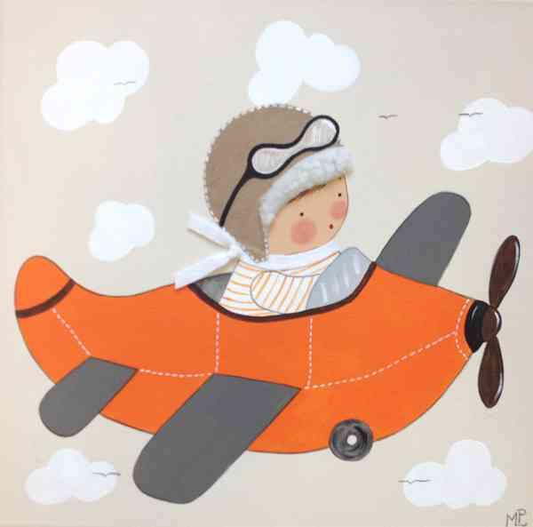 Cuadros artesanales de bb para el cuarto infantil - Cuadros artesanales infantiles ...