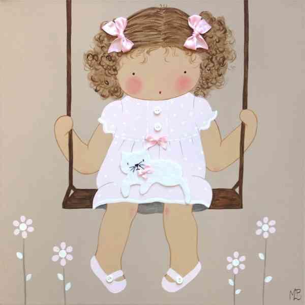 Cuadros artesanales de bb para el cuarto infantil - Bb the country baby ...