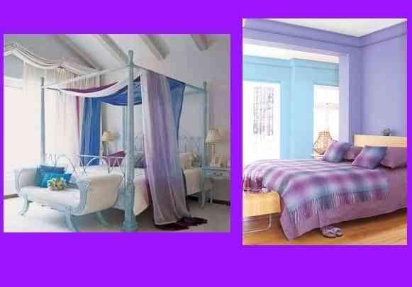 decoracion dormitorios lavanda