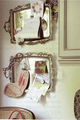 decorar con bandejas