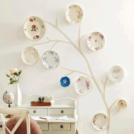 decorar con platos (2)