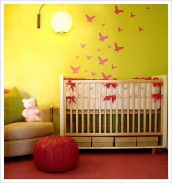 decorar dormitorio con mariposas (3)
