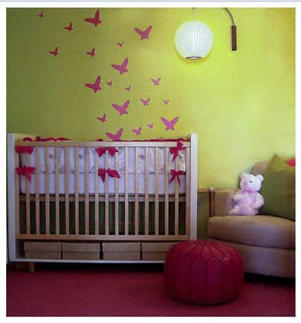 decorar dormitorio con mariposas (6)