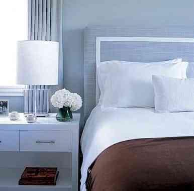decorar dormitorios celestes