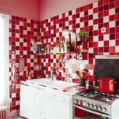 decoracion de pared de cocina