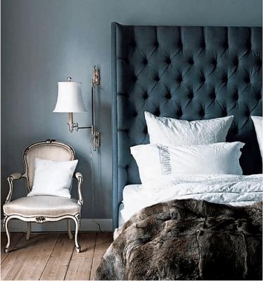 dormitoriso azul oscuro