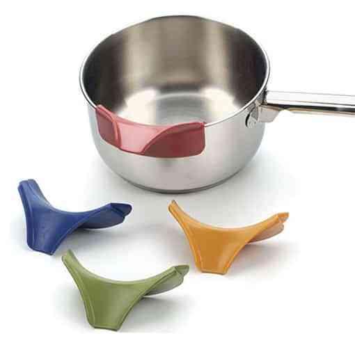 Pico vertedor para aplicar a utensilios de cocina